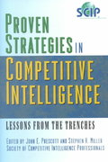 Proven Strategies in Competitive Intelligence 1st Edition 9780471401780 0471401781