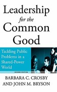 Leadership for the Common Good 2nd edition 9780787967536 078796753X