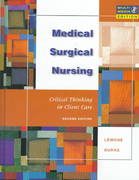 Medical-Surgical Nursing 2nd edition 9780805381214 080538121X