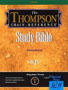 Thompson-Chain Reference Bible-KJV 0 9780887075285 0887075282