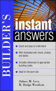 Builder's Instant Answers 1st edition 9780071395137 007139513X