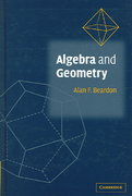 Algebra and Geometry 1st edition 9780521890496 0521890497