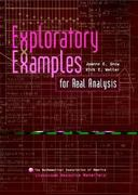 Exploratory Examples for Real Analysis 1st Edition 9780883857342 0883857340