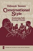 Conversational Style 0 9780893911881 0893911887