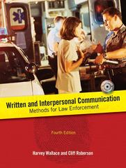 Written and Interpersonal Communication 4th Edition 9780131597198 0131597191