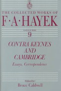 Contra Keynes and Cambridge 1st edition 9780226320656 0226320650