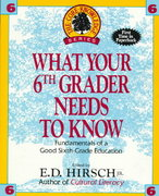What Your Sixth Grader Needs to Know 0 9780385314671 0385314671