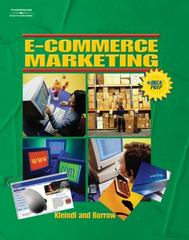 E-Commerce Marketing 1st edition 9780538438087 0538438088