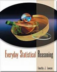 Everyday Statistical Reasoning 1st edition 9780534590949 0534590942