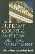 The Supreme Court and American Political Development 1st Edition 9780700614394 0700614397