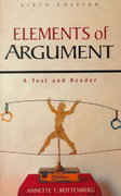 Elements of Argument 6th edition 9780312195762 0312195761