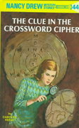 Nancy Drew 44: the Clue in the Crossword Cipher 0 9780448095448 0448095440