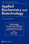 Twenty-First Symposium on Biotechnology for Fuels and Chemicals 1st edition 9780896039001 0896039005