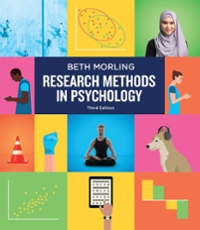 Research Methods in Psychology: Evaluating a World of Information (Third Edition) 3rd Edition 9780393617542 0393617548