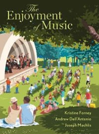 The Enjoyment of Music 13th Edition 9780393639032 0393639037