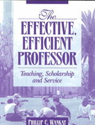 The Effective, Efficient Professor 1st edition 9780205337118 0205337112