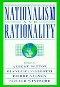 Nationalism and Rationality 0 9780521480987 0521480981