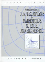 Fundamentals of Complex Analysis for Mathematics, Science and Engineering 2nd edition 9780133274615 0133274616