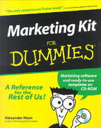 Marketing Kit for Dummies 1st edition 9780764552380 0764552384