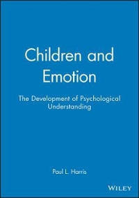 Children and Emotion 1st edition 9780631167532 0631167536