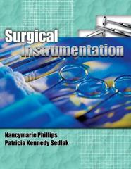 Surgical Instrumentation 1st Edition 9781401832971 1401832970
