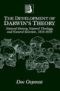The Development of Darwin's Theory 0 9780521469401 0521469406