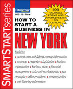 How to Start a Business in New York 2nd edition 9781599180663 1599180669