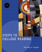 Steps to College Reading 3rd edition 9780321104045 0321104048