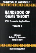 Handbook of Game Theory with Economic Applications 3rd edition 9780444880987 0444880984