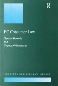 EC Consumer Law 1st Edition 9781351942058 1351942050