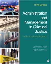 Administration and Management in Criminal Justice Textbook