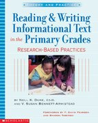 Reading and Writing Informational Text in the Primary Grades 1st Edition 9780439531238 0439531233