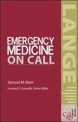 Emergency Medicine On Call 1st Edition 9780071388795 0071388796