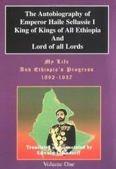 The Autobiography of Emperor Haile Sellassie I 0 9780948390401 0948390409