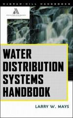 Water Distribution System Handbook 1st Edition 9780071342131 0071342133