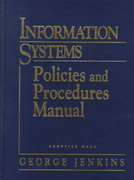Information Systems Policies and Procedures Manual 2nd edition 9780132558457 0132558459