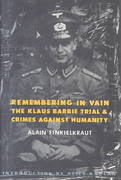 Remembering in Vain 1st Edition 9780231074643 0231074646