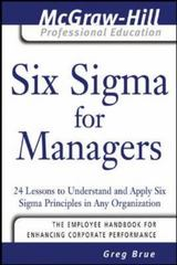 Six Sigma for Managers 1st edition 9780071455480 0071455485