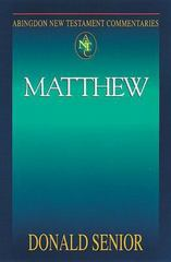 Matthew 1st Edition 9780687057665 0687057663
