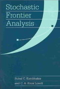 Stochastic Frontier Analysis 0 9780521666633 0521666635