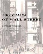 100 Years of  Wall Street 1st edition 9780071356190 0071356193