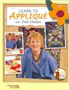 Learn to Applique with Pat Sloan 0 9781574864526 1574864521