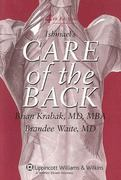 Ishmael's Care of the Back 4th edition 9780781779807 0781779804