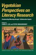 Vygotskian Perspectives on Literacy Research 1st edition 9780521630955 0521630959