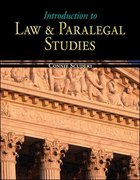 Introduction to Law & Paralegal Studies 1st edition 9780073524634 0073524638