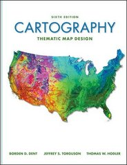 Cartography 6th Edition 9780072943825 0072943823
