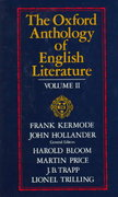 The Oxford Anthology of English Literature 2nd edition 9780195016581 0195016580