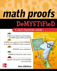 Math Proofs Demystified 1st edition 9780071445764 0071445765