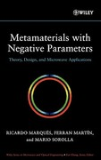 Metamaterials with Negative Parameters 1st edition 9780471745822 0471745820