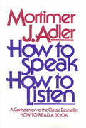 How to Speak How to Listen 1st Edition 9780684846477 0684846470